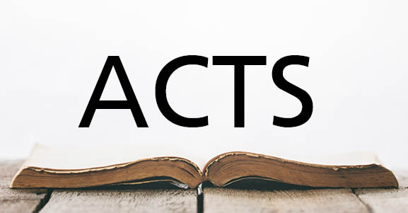 Acts: The Moral Choice that Mattered