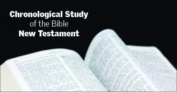 Chronological Study of the Bible New Testament - Session 5